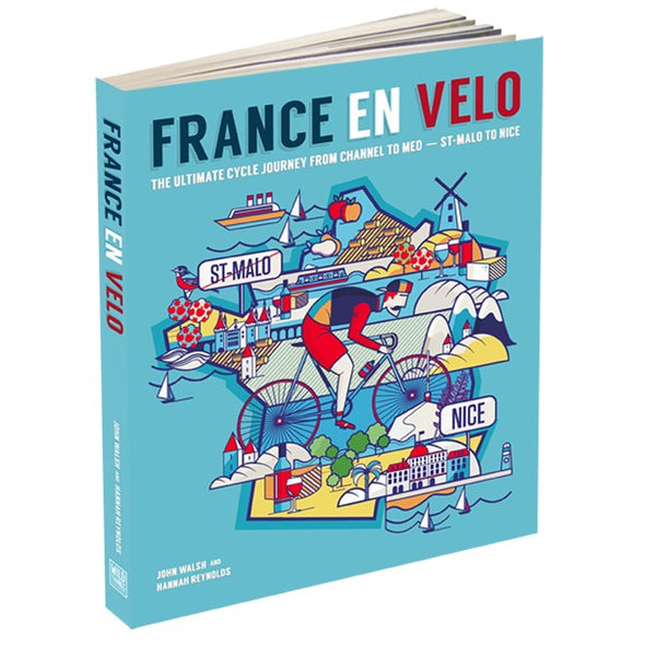 Stylish Cycling Gifts - Books Spin Shed France En Velo