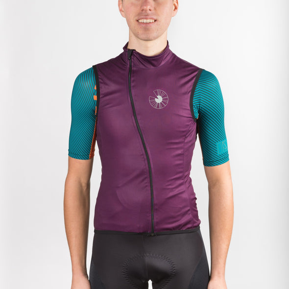 Stylish Cycling Clothing - Gilets Spin Shed I R I S