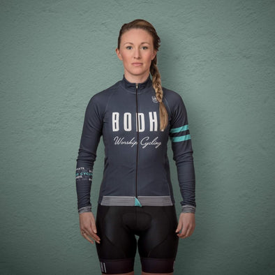 Stylish Cycling Clothing - Jerseys (Long Sleeve) Spin Shed Bodhi