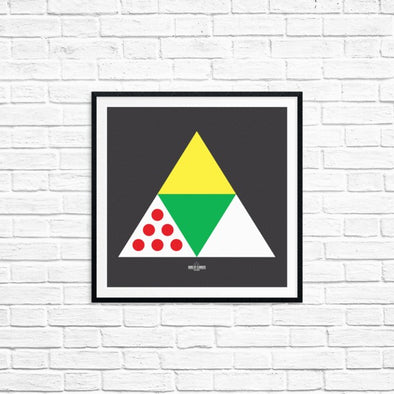 Stylish Cycling Prints - Art Spin Shed Band of Climbers