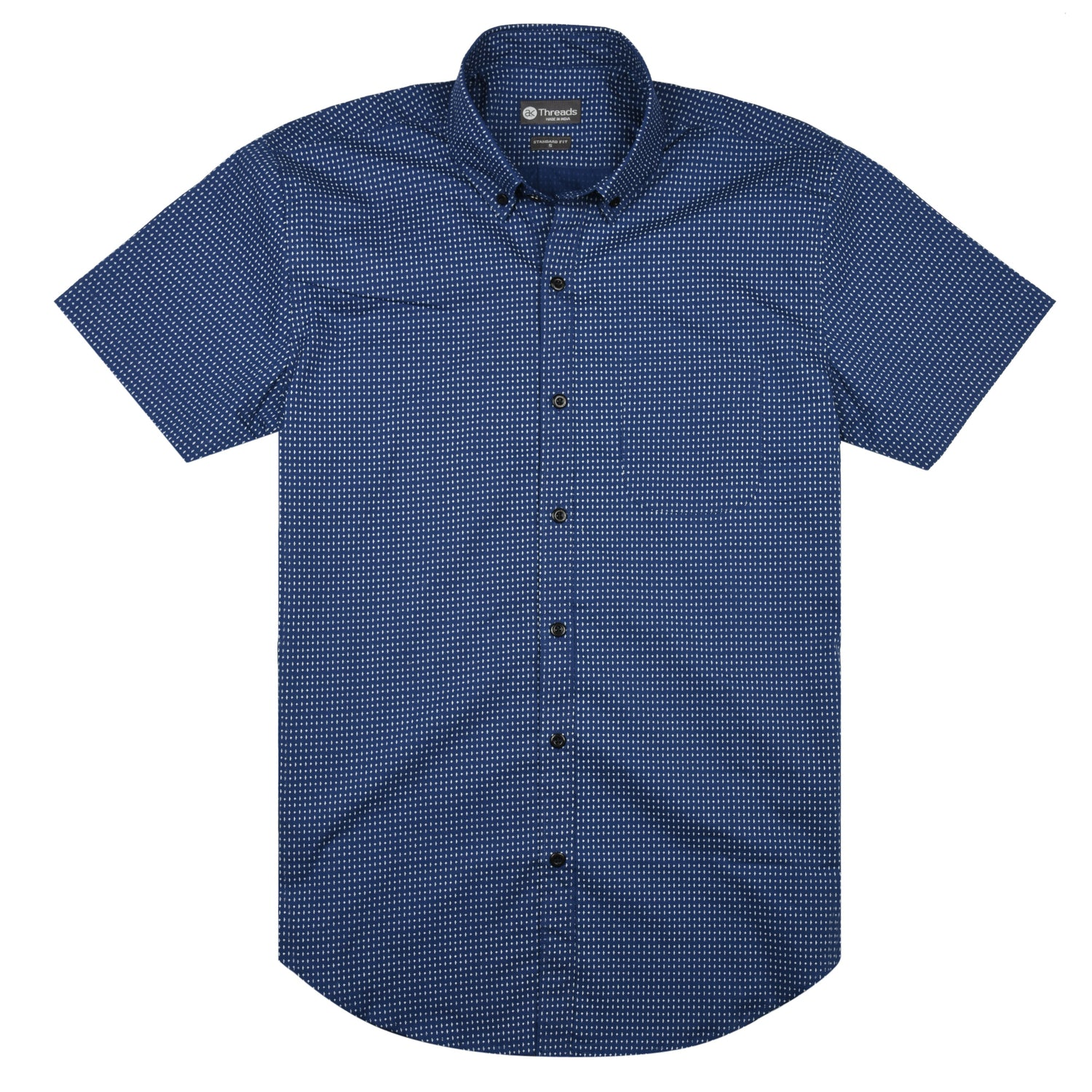 Tile Pattern Short Sleeve Shirt