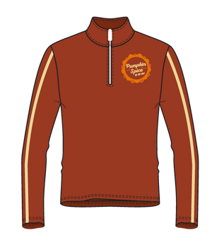 Pumpkin Spice 1/4 Zip Long Sleeve