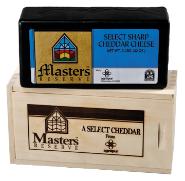 #1 Masters Reserve Sharp Cheddar in Wooden Box