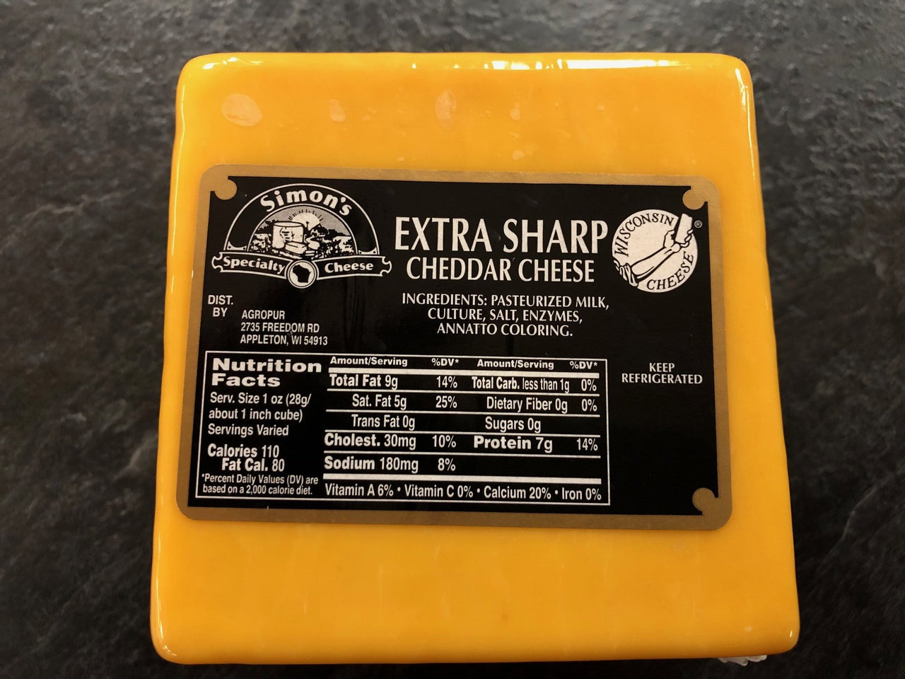 Simon's 3 Year Old Extra Sharp Cheddar