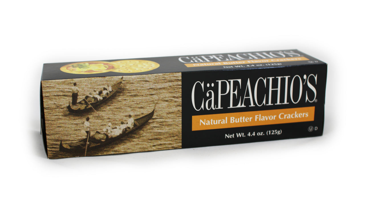 Cäpeachio's Natural Butter Crackers