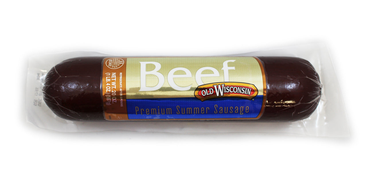 Old Wisconsin Beef Summer Sausage - 20 oz