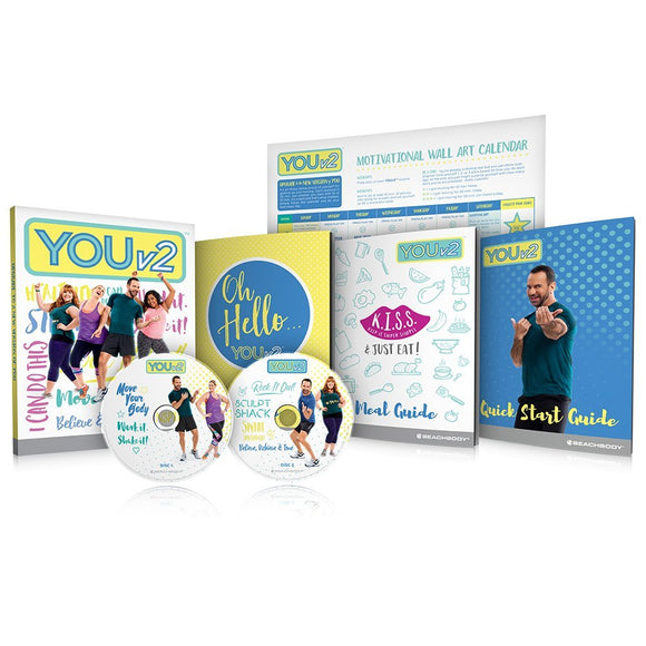 YOUv2 Beginner Health and Fitness Workout 2 DVD
