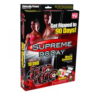 SUPREME 90 DAYS DVD Workout 10 DVD's