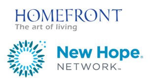 homefront the art of living and new hope network logo