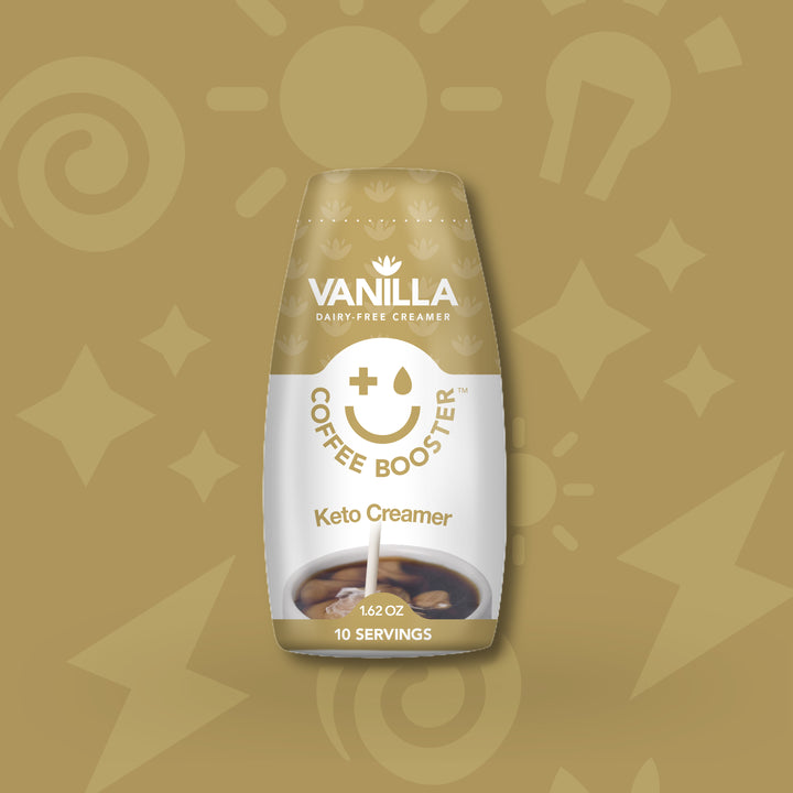 COFFEE BOOSTER™ VANILLA KETO CREAMER - 10 DAYS