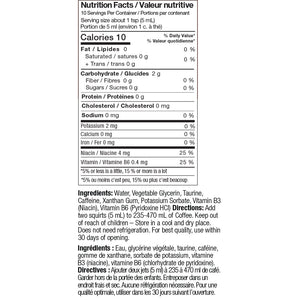 performance boosters nutrition facts