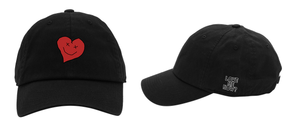 Love Me Now? Heart dad hat