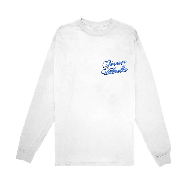 Forever Umbrella Long Sleeve- White