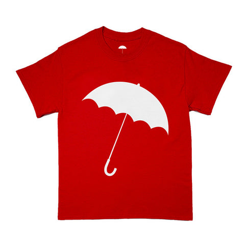 UMBRELLA TEE (RED)