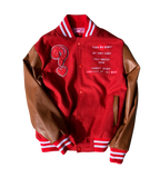 Love Me Now? Red Letterman Jacket