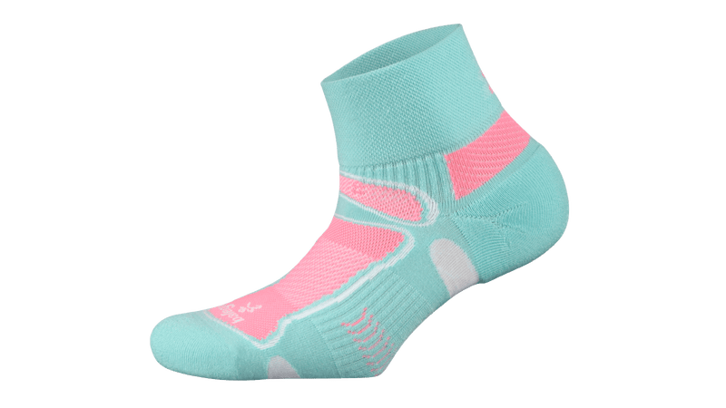 Balega Ultralight Contoured Fit Quarter Running Socks