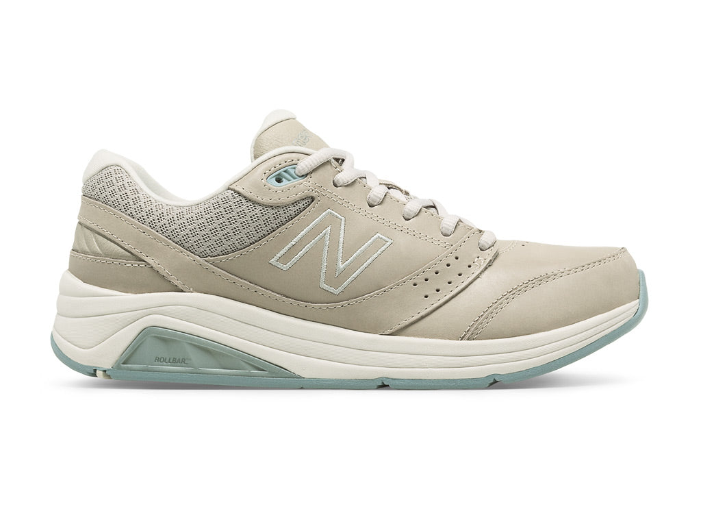 New Balance 928 Leather v3 (W) - Bone/Grey