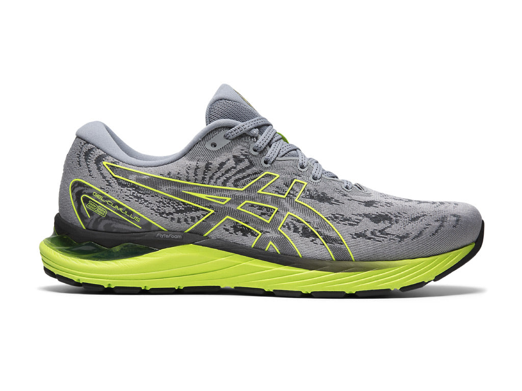 Asics Gel-Cumulus 23 (M) [Sheet Rock/ Hazard Green]