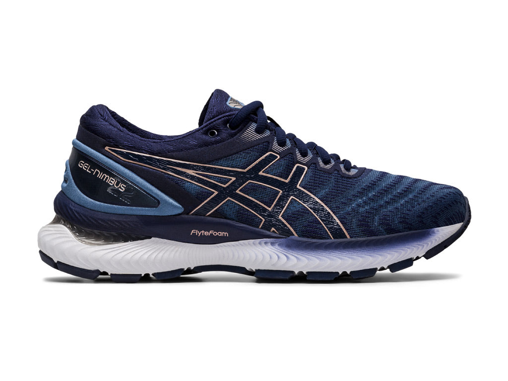 Asics Gel-Nimbus 22 (W) - Grey Floss/Peacoat