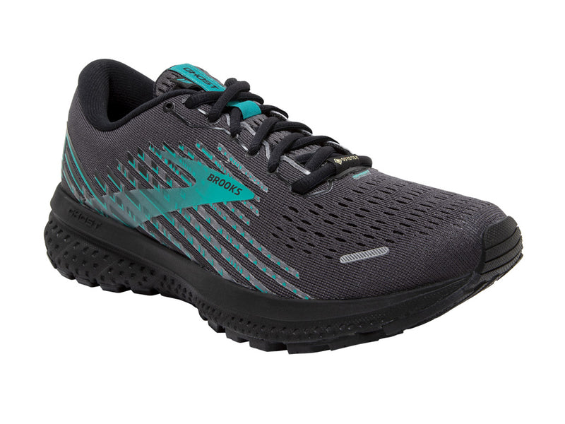 Brooks Ghost 13 GTX (W) - Black/Black/Peacock