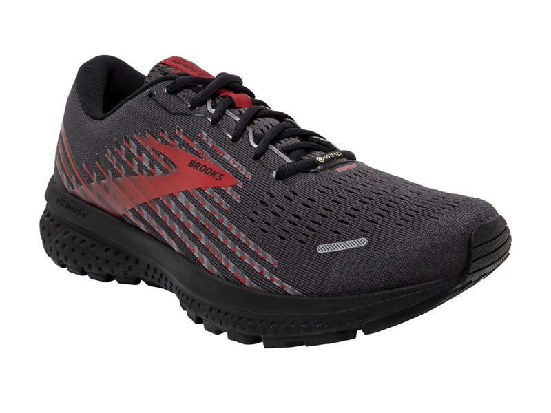 Brooks Ghost 13 GTX (M) - Black/Ebony/Red