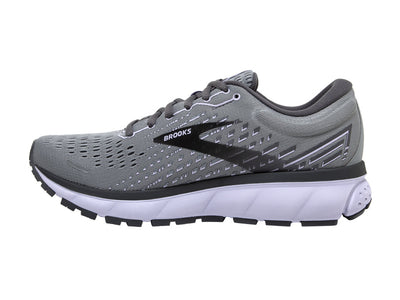 Brooks Ghost 13 (W) - Grey/Blackened Pearl/Purple