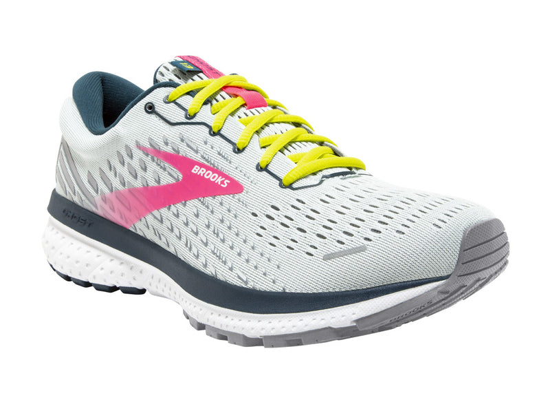 Brooks Ghost 13 (W) - Ice Flow/Pink/Pond