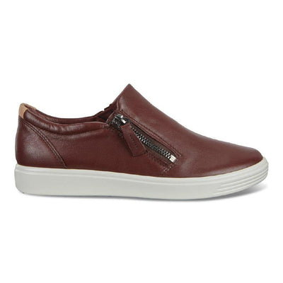 Ecco Soft 7 Slip-On (W) - Chocolate Droid
