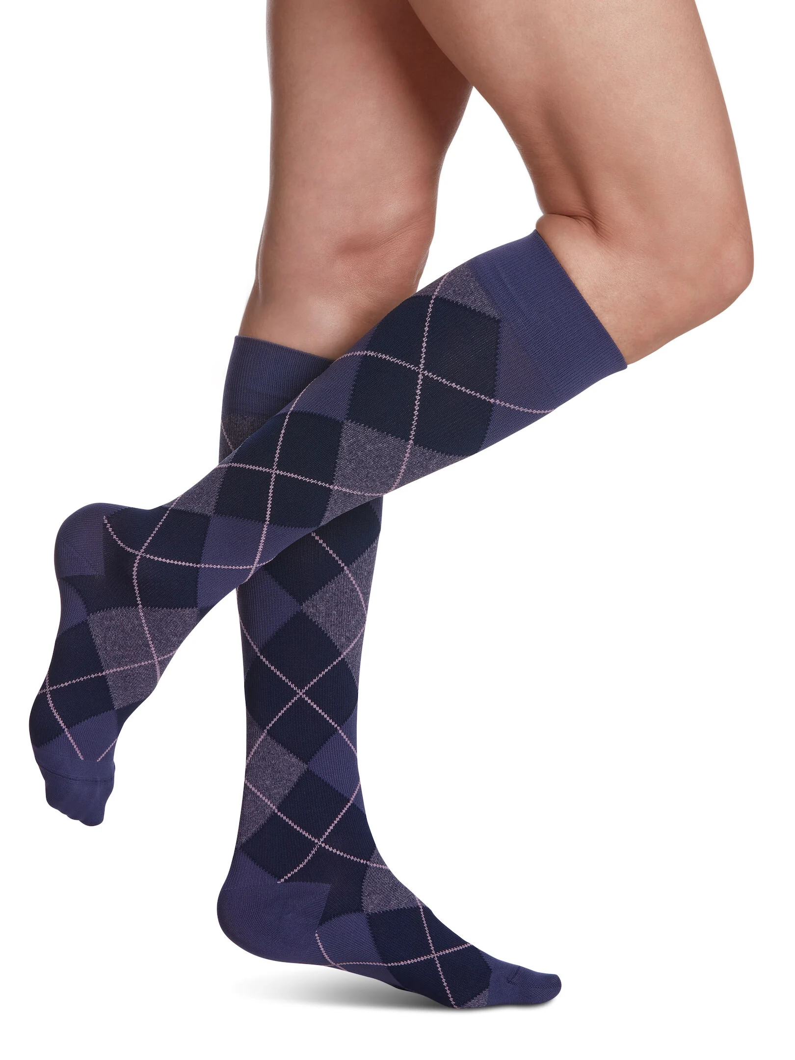 Sigvaris Microfibre Patterns Women's Compression Socks (Medical)