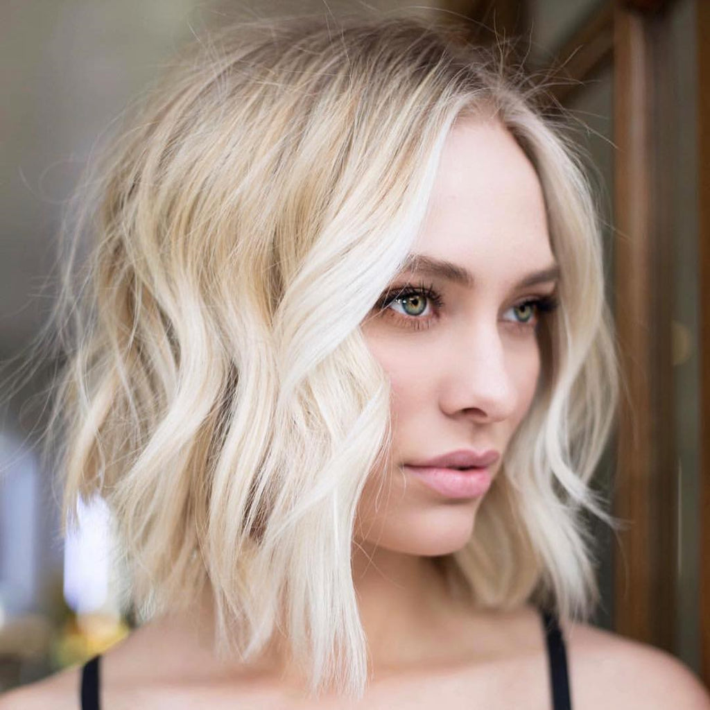 Medium Length Hairstyles For Thin Healthy Blonde Hair