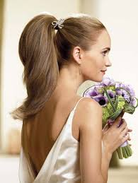 long hair style ideas trendy chic ponytail