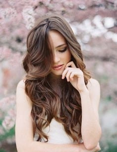 healthy long hair style ideas romantic waves by voluflex