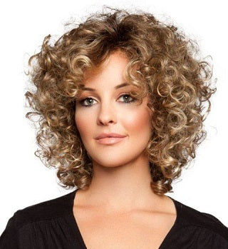 best short hairstyles for women layered curls