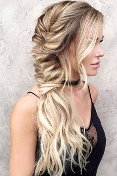 Healthy long hair bohemian braid blog