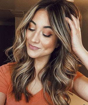 healthy long hairstyle ideas beachy waves by voluflex