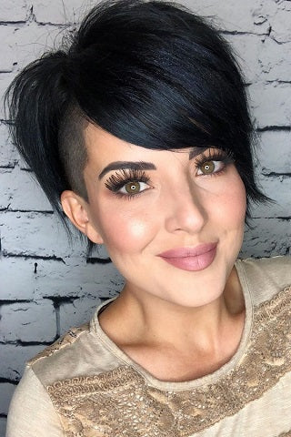 long pixie cut shaggy long hair fabulous for face framing