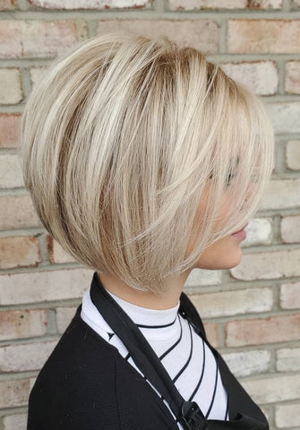 Medium Length Hairstyles For Thin Hair Voluflex Lob