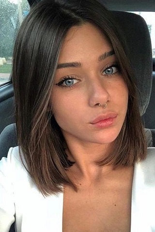 short hairstyles for thin hair classic shoulder length cut voluflex