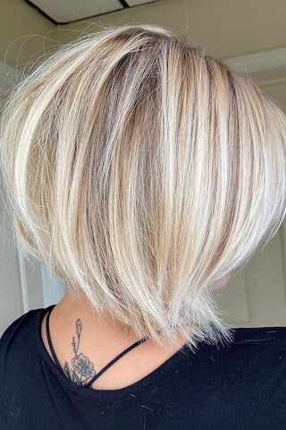 short hairstyles for thin hair long bob voluflex