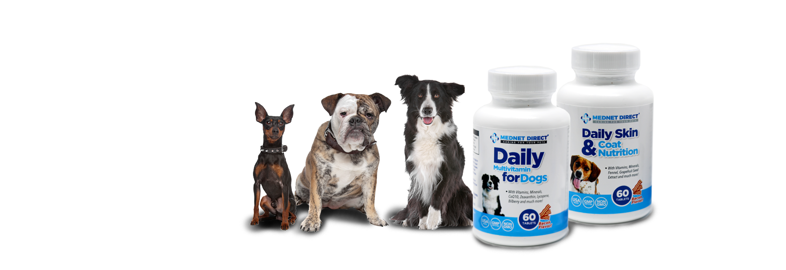 NOW INTRODUCING Our Newest Pet Supplement Line