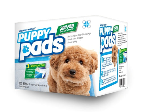 17 x 24 Small Value Doggy Training Puppy Pads - 300 Count