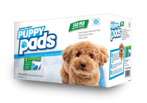 23 x 36 Large Value Doggy Training Puppy Pads - 150 Count