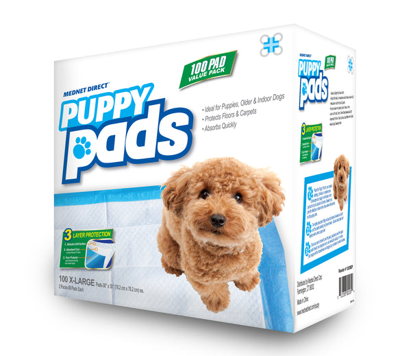 30 x 30 XX-Large Value Doggy Training Puppy Pads - 100 Count