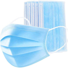 200 Count Disposable 3-layer masks (packs of 50)