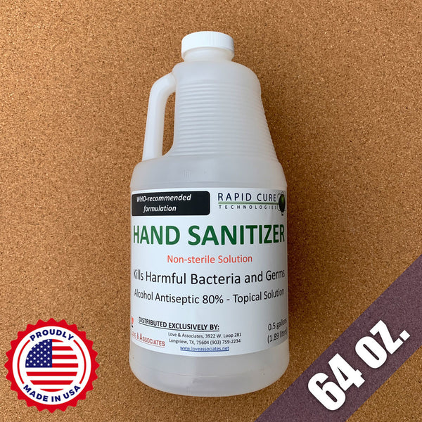 Liquid Hand Sanitizer (64oz)