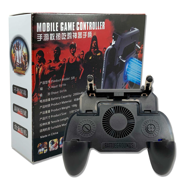 SR Mobile Game Controller with Powerbank