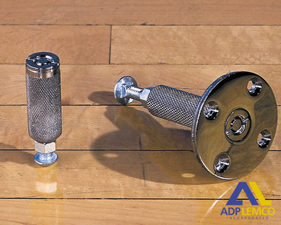 ADP Style E Floor Anchor (For Floating Wood Floors Resting on Sleepers or Metal Clip Fasteners) P