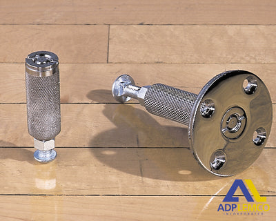 ADP Concrete or Synthetic Surface Floor Anchor P