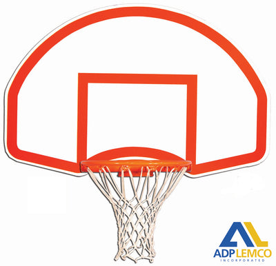 ADP Rear-Mount Fan-Shape Steel Basketball Backboard P