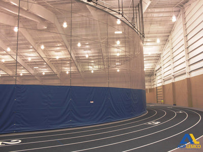 ADP Fold-Up Radius Gymnasium Curtain P